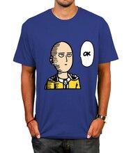 Colorful One Punch Man Saitama T-Shirt