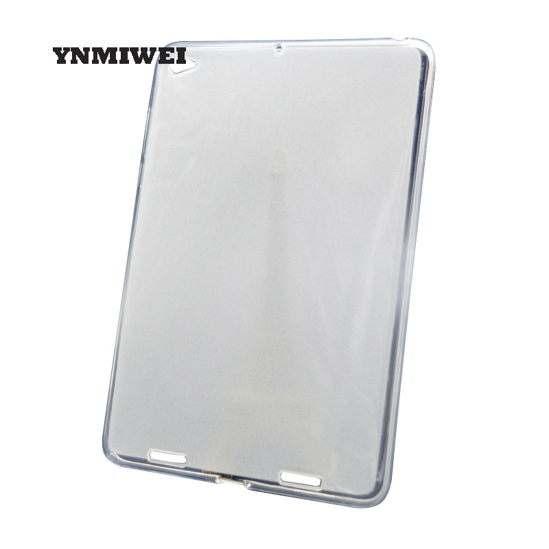 TPU Silicon Cover For Xiaomi Mipad 1 Cover Mi Pad 1 Soft Tablet Protective Case Transparent Matte Shell Cover YNMIWEI [hk stock] original silicon protective cover brand new soft case for zte blade s7 transparent
