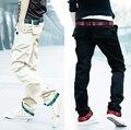 2017 Pantalones de ejercicio, La Manera caliente Slim Fit Para Hombre Pantalones Casuales Pantalones Nuevos de Visita del Diseño de Los Hombres de Algodón de Alta Calidad Tamaño Xxxl