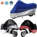 Hot Impermeável UV de Proteção Respirável Da Motocicleta Motor Vehicle Capa Divisão Cor Tilts Protecção Folhas
