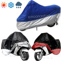 Hot Waterproof UV Protective Breathable Motorcycle Motor Vehicle Cover Split Color Tilts Protective Sheets