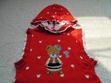 The girl's skirt thin sweater dress The new children's clothing