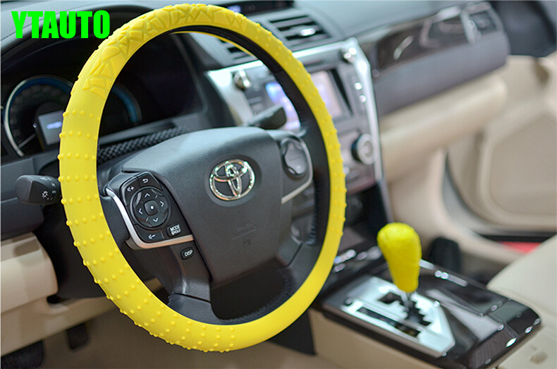 Silicone Car Steering Wheel Cover Case,32CM ,high quality ,car styling