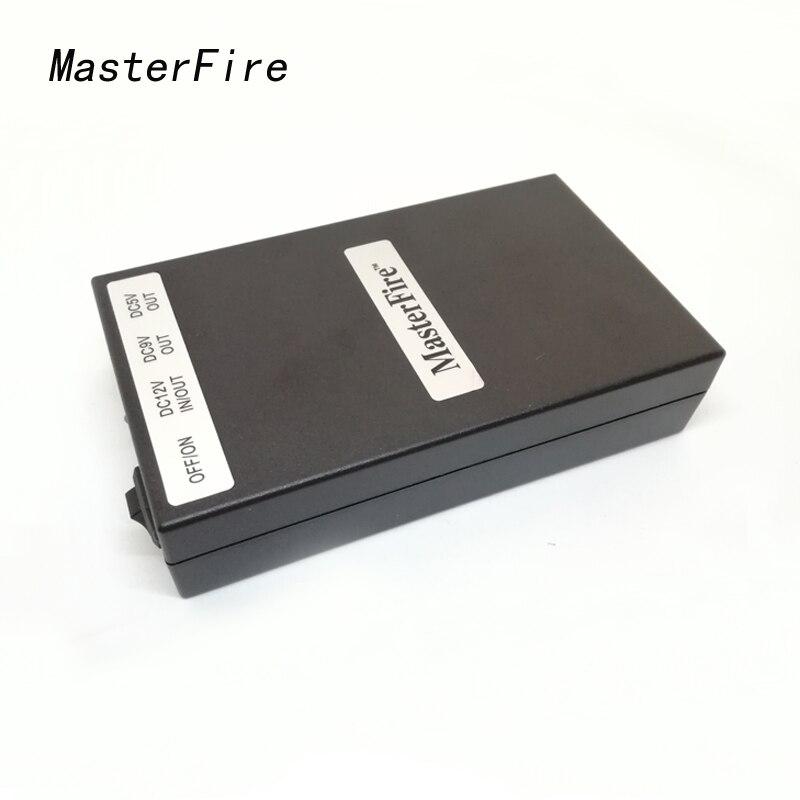 MasterFire 3 ensemble/lot 5 V 15000 mAh 9 V 8500 mAh 12 V 6500 mAh 3 en 1 batterie Rechargeable DC Batteries Li-ion pour caméra CCTV CAM DVR