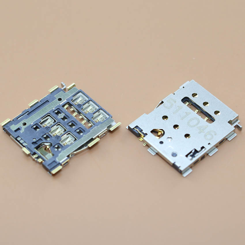 Replacement Sim card socket for HTC one2 M8 M8t M8X M8D M8W M8Y M8n E8/ for Blackberry Windermere Classic Q20 sim card reader.