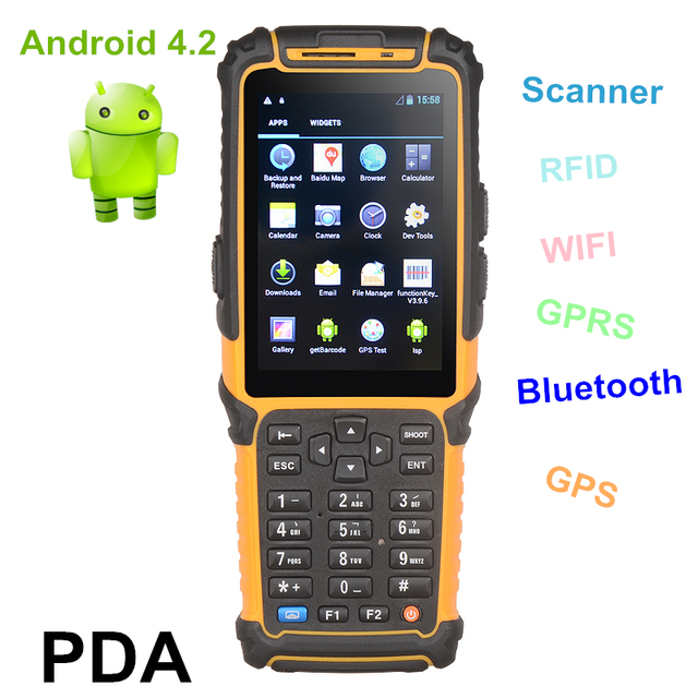 Handheld Data Collection Devices Ts 901s Rugged Android Pda With 3g