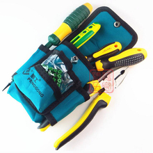 1PC Multifunctional Repair Pouch Pocket Tool Bag Waterproof Oxford cloth Tools Kit Pockets  Waist Belt for Electrician