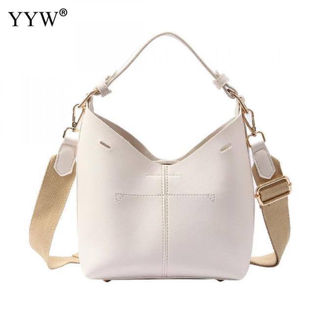 7d71c1b3ec1e Sollid Tote Bags for Women 2018 Hobos Top-Handle Bag Cheap PU Leather  Handbags Women Bags Designer Yellow Beach Crossbody Bag