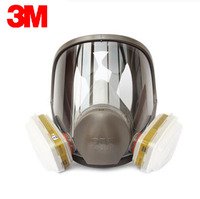 3M 6800+6006 Full Facepiece Mask Reusable Respirator Filter Protection Masks Anti Multi Acid Gas&Organic Vapor R82404
