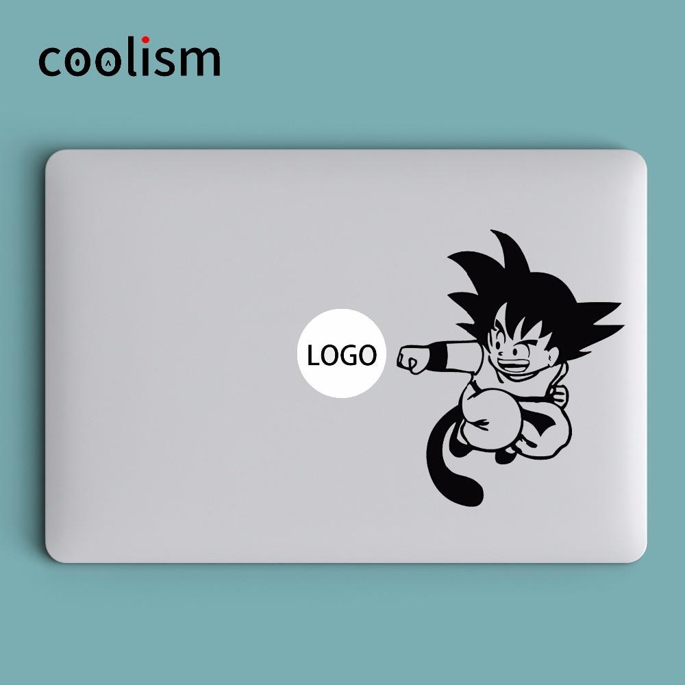 Goku Dragon Ball Fun Laptop Decal Sticker for Apple