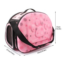 Pet Dog Cat Travel Bag Portable Travel Carrier Handbag