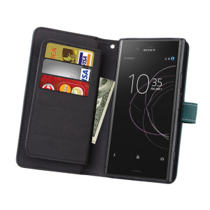 Image 5 - Swtengyue For Sony Xperia XZ1 case Flip Wallet Leather Multifunction Nine cards case For Sony Xperia XZ1 Compact XZ premium Case