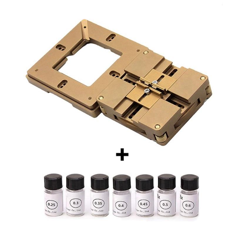 90Mm Universal Bga Reballing Station Magnetism Lock 7 x 2.5K Bga Solder Ball For Bga Rework Reballing Repair Welding Tools Set