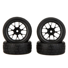 GoolRC 4 Pcs High Performance 1/10 Rally Auto Velg en Band 20101 voor Traxxas Tamiya HPI Kyosho RC Auto(China)