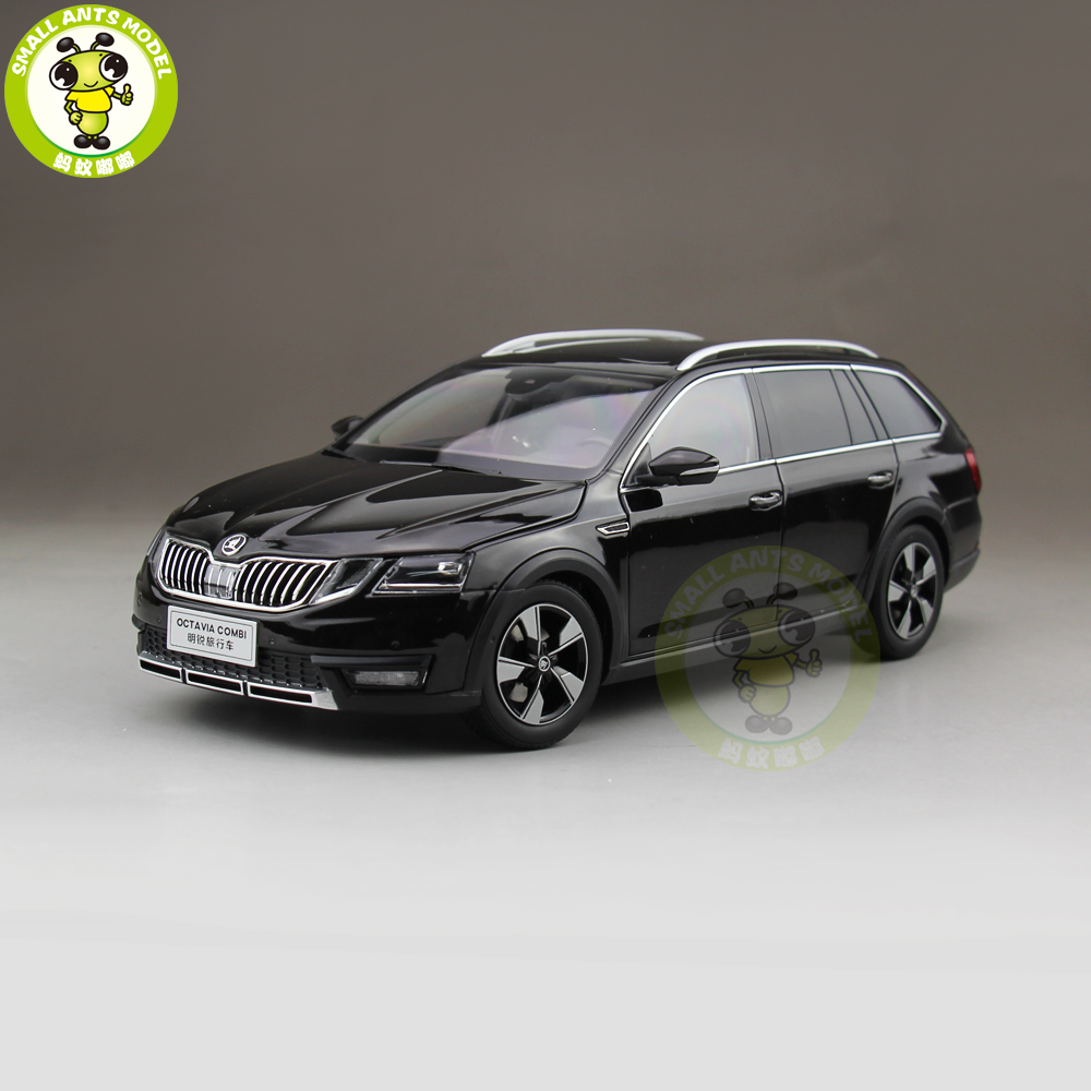1 18 VW Skoda Octavia Combi Wagon Diecast Metal CAR MODEL Toy Boy Girl gift Brown