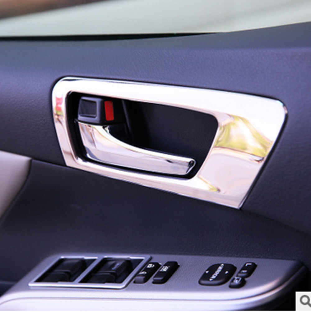 Car styling door handle cover interior decoration ring sticker car accessories for toyota camry accent sedan