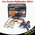 55 W Veículo Nenhum Erro Kit Xenon HID Lastro Lâmpada AC 3000 4300 K 6000 K 8000 K Farol Baixo Farol Do Carro Para Toyota Highlander 2012