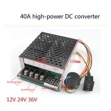 цены на 40A DC motor speed controller,, motor speed controller,, reverse switch,, digital display tachometer,,12V24V36V  в интернет-магазинах