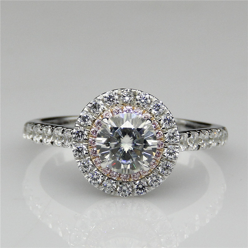 line Buy Wholesale pink moissanite rings from China pink moissanite rings W