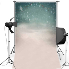 MEHOFOTO Christmas Theme Vinyl Photography Background Snowflake New Fabric Flannel Backdrops For Children Photo Studio ST386