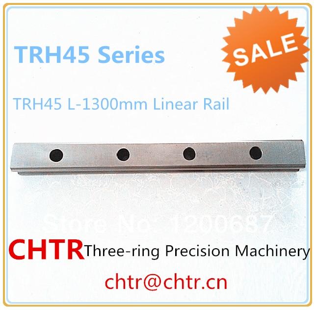 TRH45 L-1300mm Linear Slide Rail CNC Linear Guide Rail Linear Slide Track 45mm