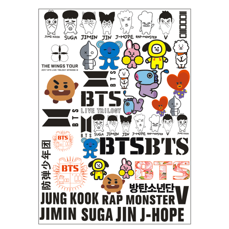 KPOP BTS Bangtan Boys Jimin Jin Jhope Jung kook V Suga Rap