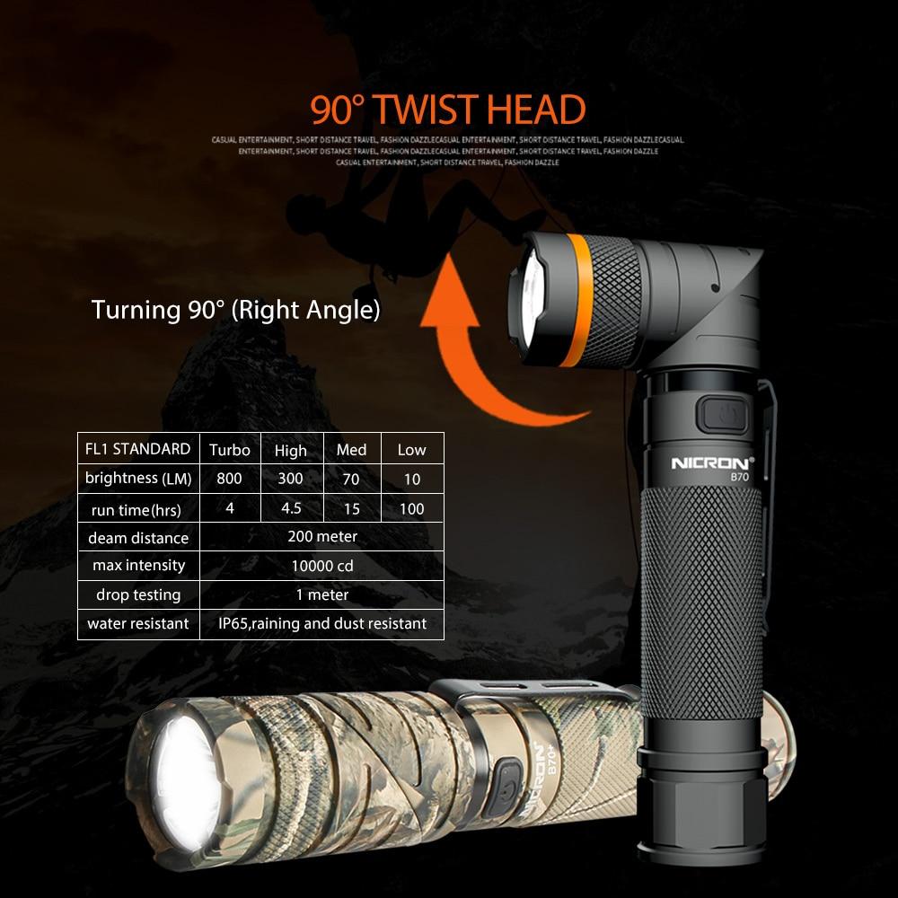 09 Waterproof Led Flashlight