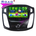 TOPNAVI Android 6.0 2G+32GB 9Inch 1024*600 Car GPS Navigation Player For Ford Focus 2012 Stereo Multimedia Double Din Audio MP4