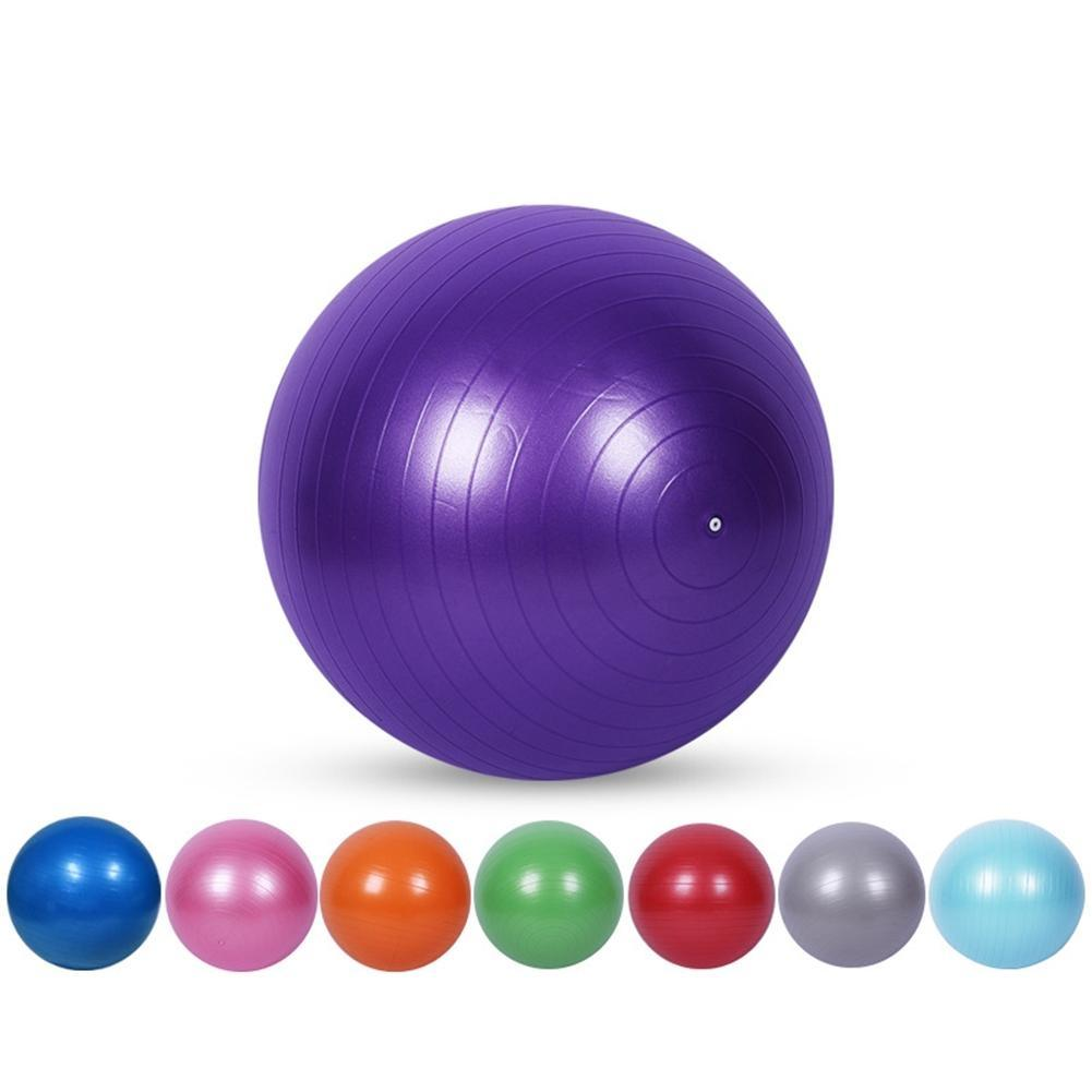 Fitness & Body Building Sports & Entertainment Amiable Mounchain Yoga Exercise Ball Anti-slip Ball Chair Anti-burst Balance Ball Extra Thick Birthing Ball With Pump High Standard In Quality And Hygiene