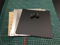reprap Prusa 3D Printer 220mm Heated Bed magnet Self adhesive plate kit Platform Build Surface