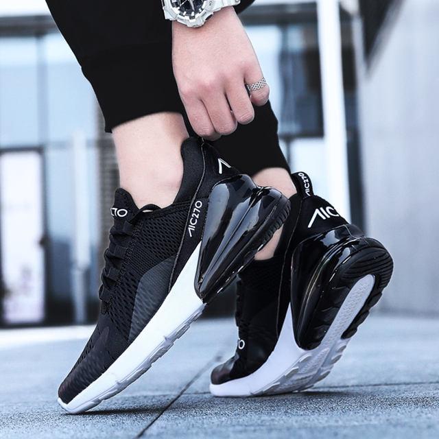 WINDRIDERISM New Arrival Men Sneakers High Tech Damping Flyknit Breathable Cozy Men Casual Shoes Fashion Zapatillas de Hombre