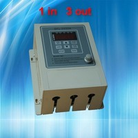 0.75KW inverter VFD 220 variable frequency inverter 1 phase input 3 3 phase output 220 V AC motor