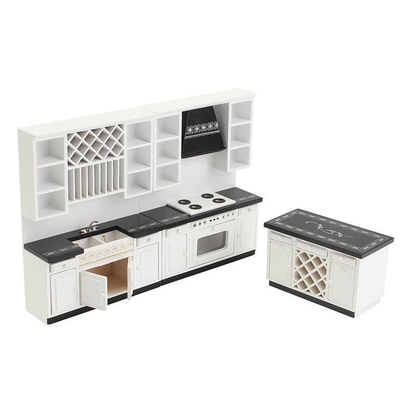 1:12 Dollhouse Miniature Wooden Box Toy Doll Food Kitchen Room Accessories HU