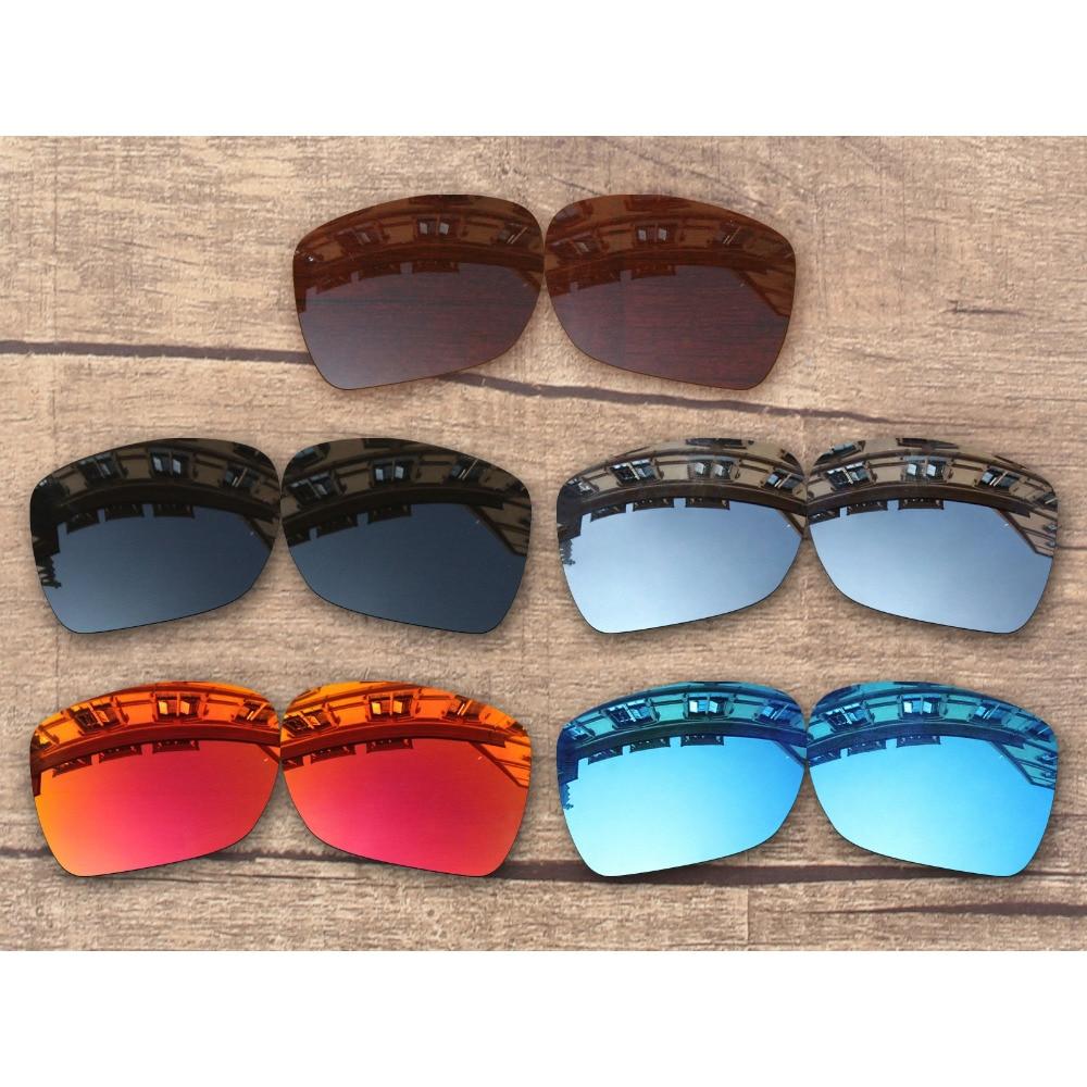 Vonxyz 20+ Color Choices Polarized Replacement Lenses for-Oakley Deviation Frame