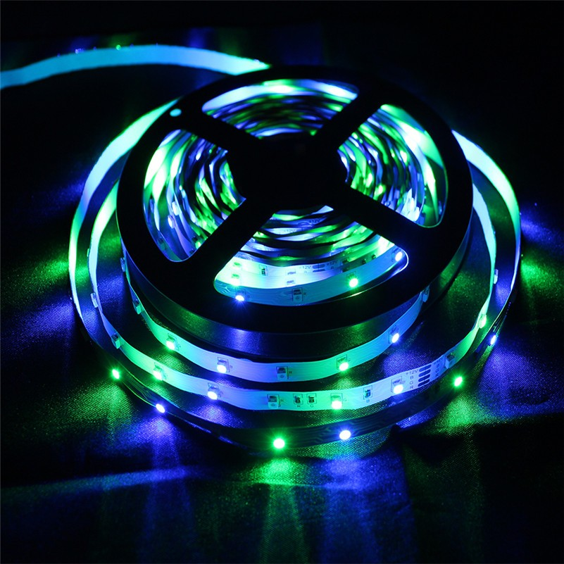 Zinuo 5m led strip light rgb 2835 smd 300 led tape light string zinuo 5m led strip light rgb 2835 smd 300 led tape light string ribbon non waterproof rgb more bright than 3528 for decorative in led strips from lights aloadofball Gallery
