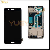 LCD Display For Oneplus 5 LCD Display Screen Touch Panel Complete Assembly For Oneplus 5 A5000 Five LCD Digitizer Display+Frame
