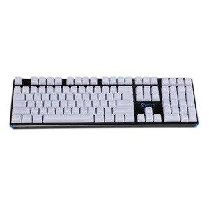 Image 3 - YMDK 1.5mm ABS 108 87 61 ANSI ISO Blank Milk Fog OEM Profile Shine Through Keycap For MX Mechanical Keyboard RGB GK61 Womier 66
