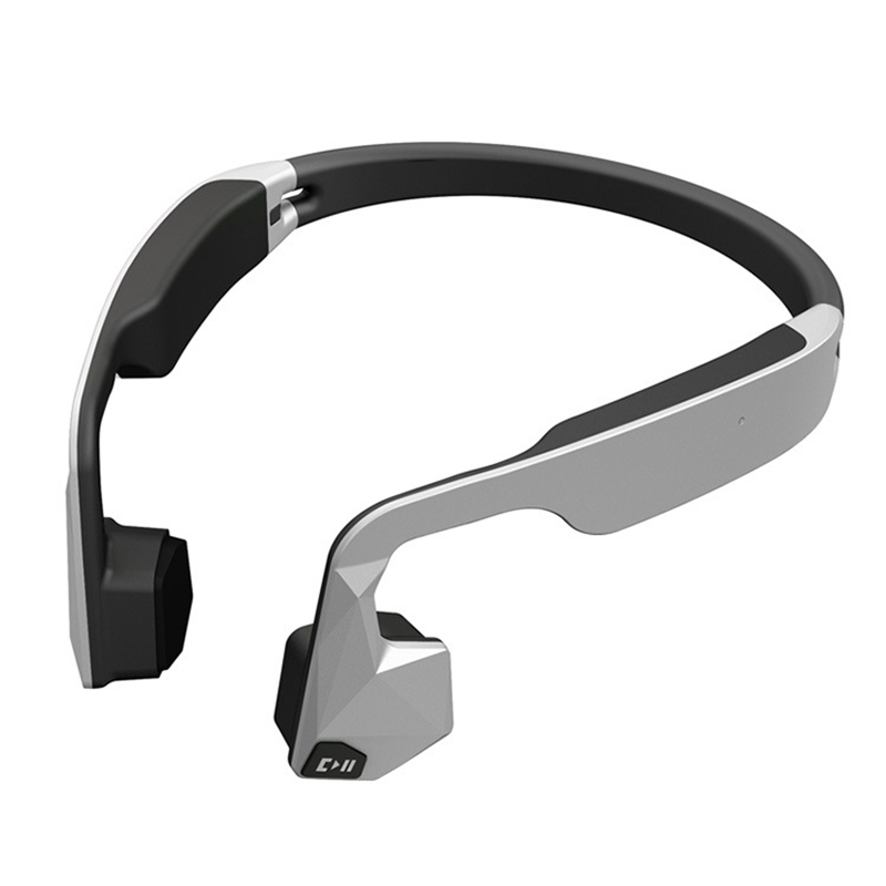 купить Bone conduction GS Headset Wireless Bluetooth Headphone Stereo Waterproof Hand Free High-end For Running Riding Outdoor Sports