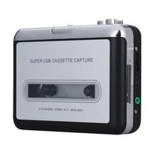 Оригинальный Портативный USB аналогового Кассета для MP3 конвертер Capture стерео аудио плеера для iPhone iPad PC, бесплатная доставка