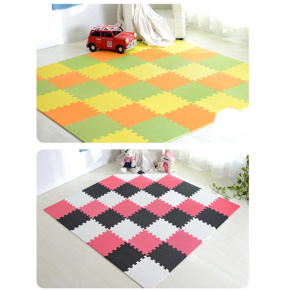 Детские игрушки Puzzle Play + обучение + защитные коврики детские игрушки детские ковры игрушки для Детский ковер развивающий коврик детские игровые коврики Playmat