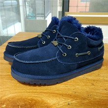 Hemmyi зимние ботинки для мужчин модные ботильоны Новинка 2017 из коровьей замши водонепроницаемый супер теплый Высококачественная Мужская обувь Большие размеры 11 12