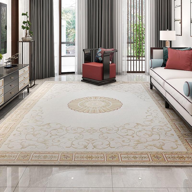 Tapis de Style chinois et tapis pour salon moderne chambre chevet tapis couloir maison tapis coureur tapis plancher porte tapis