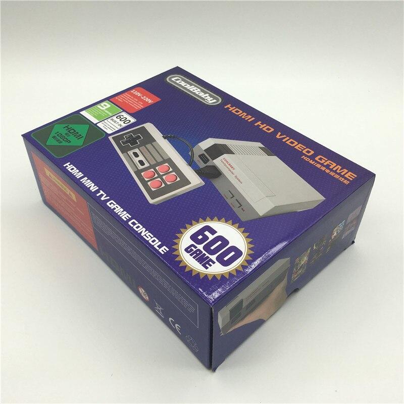 10PCS CoolBaby HD Mini TV Family Game Console HDMI 8 Bit Retro Video Game Console Built