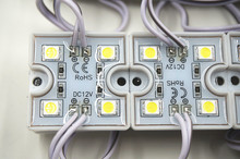 20PCS LED 5050 4 LED Module 12V waterproof super bright square led modules