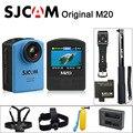 M20 Original SJCAM Wifi Câmera de Ação de Esportes Gyro Mini DV Capacete 30 M À Prova D' Água 4 K 24fps 2 K 30fps NTK96660 16MP Com Formato RAW