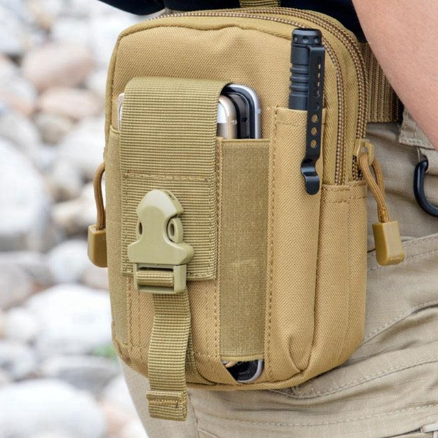 Открытый Отдых Восхождение сумка Тактический военная Униформа Молл хип пояс кошелек Чехол кошелек чехол для iPhone 7 для samsung