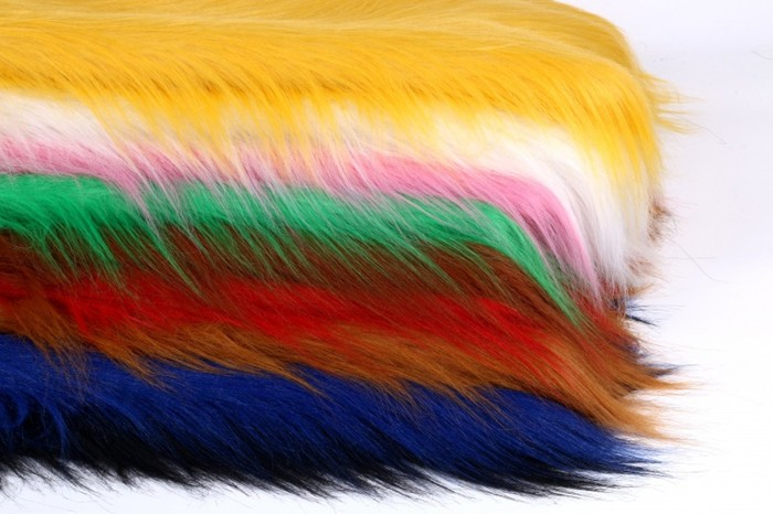 Multi cores de pelúcia brinquedo tecido luxo