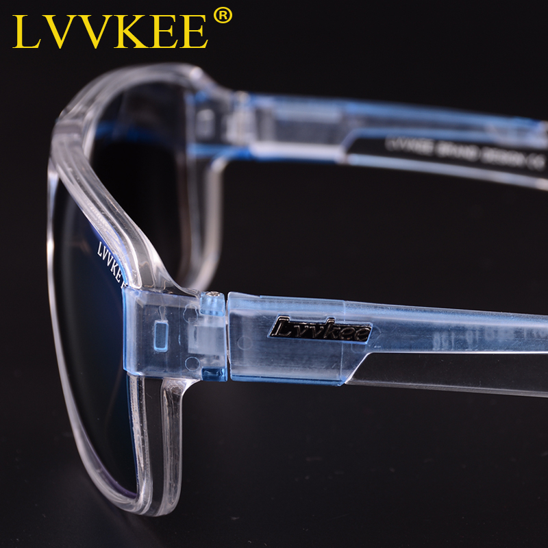 LVVKEE 2018 Brand Male Polarized Sunglasses Outdoor sports Men Women Transparent Colorful frame Sun Glasses oculos mormaii surf in Men 39 s Sunglasses from Apparel Accessories