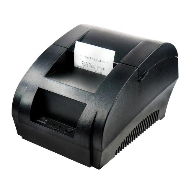 Новый мини 58 мм тепловой получение билетов ккм 58 тепловой USB принтера (черный/белый)
