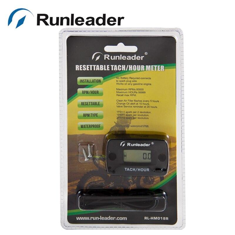 Lawn mower tachometer hookup